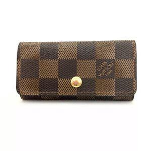 Louis Vuitton Damier Key Case+ LV Box/Dust Bag